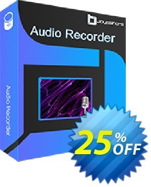 JOYOshare Audio Recorder 優惠券,折扣碼 25% OFF JOYOshare Audio Recorder, verified,促銷代碼: Fearsome sales code of JOYOshare Audio Recorder, tested & approved