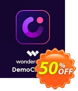 Wondershare DemoCreator for MAC discount coupon 51% OFF Wondershare DemoCreator for MAC, verified - Wondrous discounts code of Wondershare DemoCreator for MAC, tested & approved