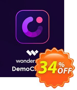 Wondershare DemoCreator for MAC Lifetime discount coupon 34% OFF Wondershare DemoCreator for MAC Lifetime, verified - Wondrous discounts code of Wondershare DemoCreator for MAC Lifetime, tested & approved