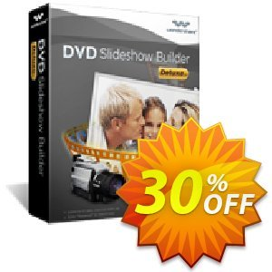 Wondershare DVD Slideshow Builder Deluxe for Windows割引コード・30% Wondershare Software (8799) キャンペーン: