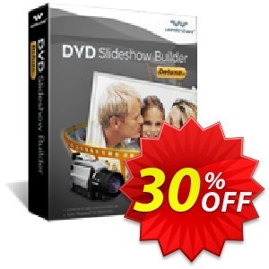 Wondershare DVD Slideshow Builder Deluxe for Windows promo sales