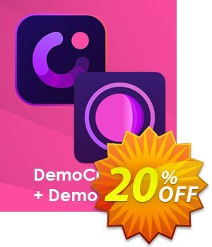 Bundle: Wondershare DemoCreator + DemoAir discount coupon 20% OFF Bundle: Wondershare DemoCreator + DemoAir, verified - Wondrous discounts code of Bundle: Wondershare DemoCreator + DemoAir, tested & approved