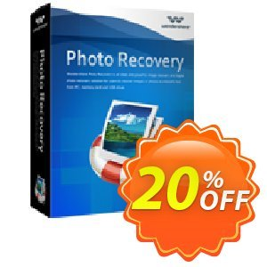 Wondershare Photo Recovery for Windows offering sales 30% Wondershare Software (8799). Promotion: