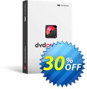 Wondershare DVD Creator for Windows offering sales 30% Wondershare Software (8799). Promotion: