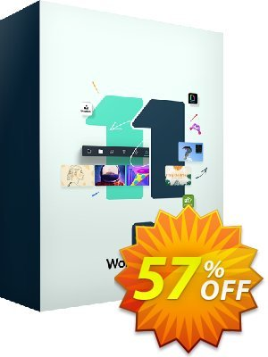 Wondershare Filmora Video Editor 優惠券,折扣碼 30% Wondershare Software (8799),促銷代碼: Wondershare Filmora Exclusive coupon for EDM (video editor) IVS-LWMW-FILM (5% Fillmora)