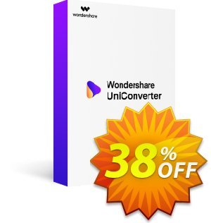Wondershare Video Converter Ultimate (Mac) 촉진  Wondeshare UniConverter for Mac dreaded sales code 2020