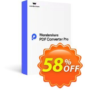 Wondershare PDF Converter PRO for Mac (Lifetime) discount coupon Back to School-30% OFF PDF editing tool -