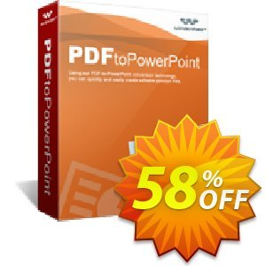 Wondershare PDF to PowerPoint Converter for Windows Coupon discount PDFelement 6 Special Offer! 30% OFF. Promotion: