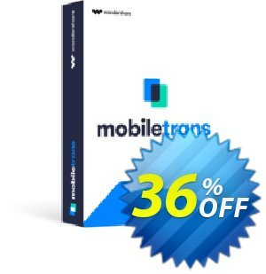 Wondershare MobileTrans - Phone Transfer Coupon discount MT 30% OFF. Promotion: Imposing discount code of MobileTrans - Phone Transfer 2021