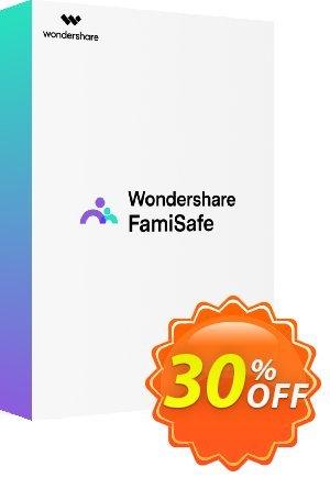 Wondershare FamiSafe (Quarterly Plan) discount coupon 30% OFF Wondershare FamiSafe (Quarterly Plan), verified - Wondrous discounts code of Wondershare FamiSafe (Quarterly Plan), tested & approved
