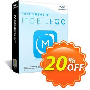 Wondershare MobileGo (MAC version) 프로모션  30% Wondershare Software (8799)