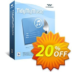 Wondershare TidyMyMusic for Mac discount coupon 30% Wondershare Software (8799) -