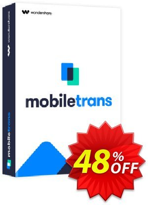 Wondershare MobileTrans One Year License Coupon discount 30% Wondershare Software (8799). Promotion: