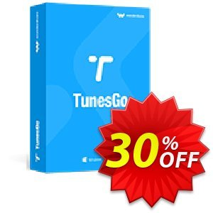 Wondershare TunesGo for Android Coupon discount 30% Wondershare Software (8799) - 30% Wondershare Software (8799)