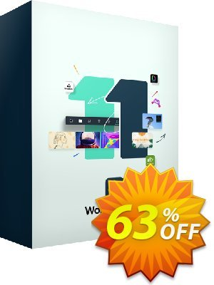 Wondershare Filmora 1 Year License Coupon discount 30% Wondershare Software (8799). Promotion: 30% Wondershare Software (8799) IVS-LWMW-FILM (5% Fillmora)