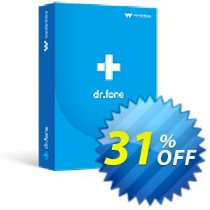dr.fone (Mac) - iOS Toolkit Coupon, discount Dr.fone all site promotion-30% off. Promotion: 30% Wondershare Software (8799)