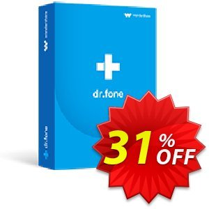 dr.fone - Full Toolkit discount coupon Dr.fone all site promotion-30% off - 30% Wondershare Software (8799)