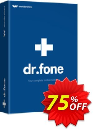 dr.fone - iOS Toolkit deals 30% Wondershare Software (8799). Promotion: 30% Wondershare Software (8799)