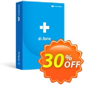 dr.fone - Repair (iOS) discount coupon Dr.fone all site promotion-30% off - 30% Wondershare Software (8799)