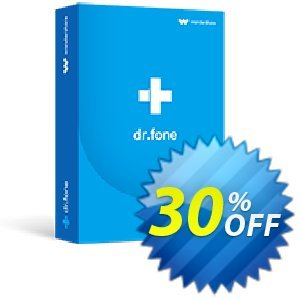 dr.fone (Mac) - Recover (Android) discount coupon Dr.fone all site promotion-30% off - 30% Wondershare Software (8799)