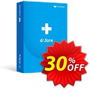 dr.fone (Mac) -  Phone Transfer (iOS & Android) discount coupon Dr.fone all site promotion-30% off - 30% Wondershare Software (8799)