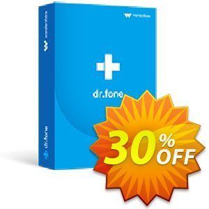 dr.fone (Mac) - Backup & Restore (iOS) discount coupon Dr.fone all site promotion-30% off - 30% Wondershare Software (8799)