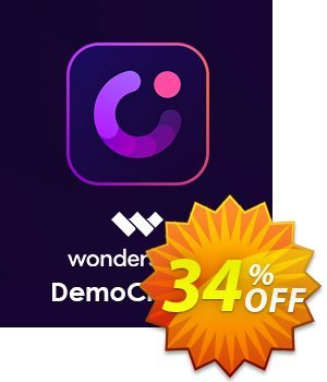 Wondershare DemoCreator Lifetime License Coupon discount 30% Wondershare Software (8799). Promotion: