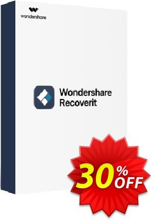 Recoverit Coupon, discount Recoverit Pro (Win) imposing discounts code 2020. Promotion: 30% Wondershare Software (8799)