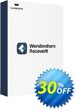 Wondershare Recoverit Lifetime License discount coupon 30% OFF Recoverit Lifetime License, verified - Wondrous discounts code of Recoverit Lifetime License, tested & approved