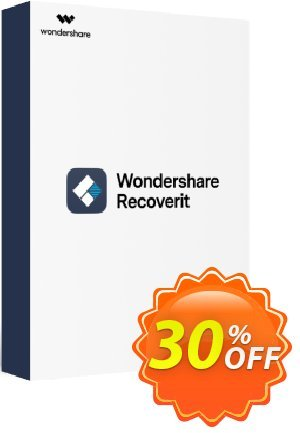Recoverit Pro Coupon, discount Buy Recoverit PRO with 30% Wondershare Software discount. Promotion: 30% Wondershare Software (8799)