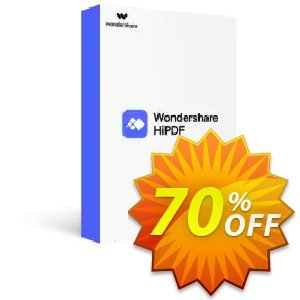 Wondershare HiPDF Pro Coupon, discount Winter Sale 30% Off For PDF Software. Promotion: 30% Wondershare Software (8799)