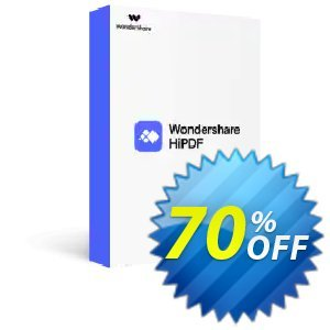 Wondershare HiPDF Pro Plus discount coupon 58% OFF Wondershare HiPDF Pro Plus, verified - Wondrous discounts code of Wondershare HiPDF Pro Plus, tested & approved