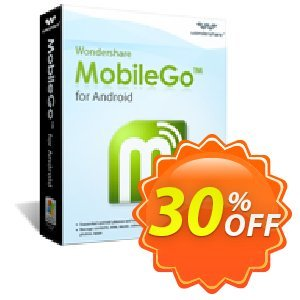 Wondershare MobileGo for Android Coupon, discount Wondershare MobileGo for Android (Windows) special promo code 2019. Promotion: best deals code of Wondershare MobileGo for Android (Windows) 2019