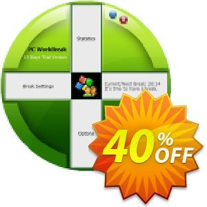 PC WorkBreak Personal License discount coupon 40% OFF PC WorkBreak Personal License, verified - Awesome offer code of PC WorkBreak Personal License, tested & approved