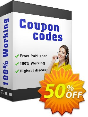 Secure Download Service 優惠券,折扣碼 Discount 50% for all products,促銷代碼:
