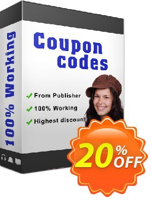 Photo Flipbook Builder Coupon, discount 20% IVS and A-PDF. Promotion: 20% IVS and A-PDF