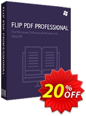 Flip PDF Professional Coupon, discount 20% IVS and A-PDF. Promotion: Coupon promo IVS and A-PDF