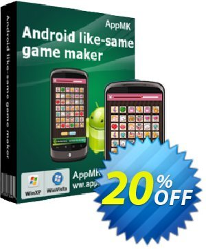 Android link-same game maker Coupon, discount 20% IVS and A-PDF. Promotion: 20% IVS and A-PDF