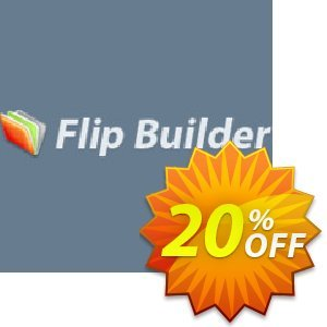 Flip Builder Coupon, discount 20% IVS and A-PDF. Promotion: 20% IVS and A-PDF