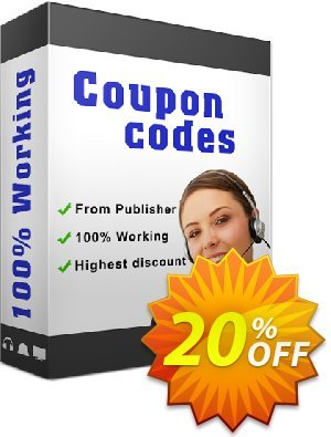 CHM to Flash Magazine Coupon, discount 20% IVS and A-PDF. Promotion: 20% IVS and A-PDF