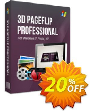 3D PageFlip Professional Mac Coupon, discount 20% IVS and A-PDF. Promotion: 20% IVS and A-PDF