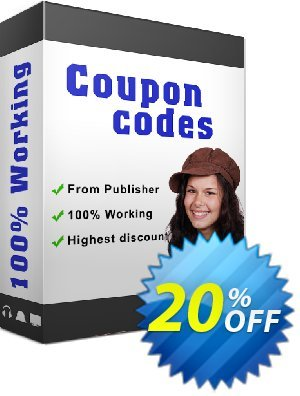 Boxoft Word to Flipbook Coupon, discount 20% IVS and A-PDF. Promotion: 20% IVS and A-PDF