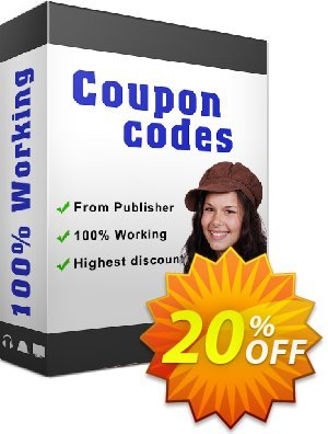Flip Tri-Fold Coupon, discount 20% IVS and A-PDF. Promotion: 20% IVS and A-PDF