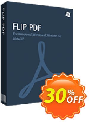 Flip PDF Coupon, discount 20% IVS and A-PDF. Promotion: Coupon promo IVS and A-PDF