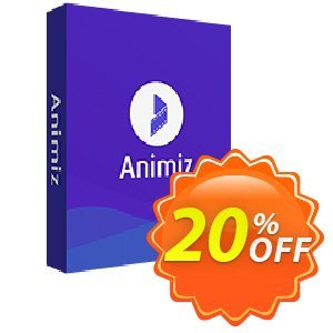 Animiz standard Coupon, discount Animiz Coupon discount (9891). Promotion: 20% IVS and Animiz