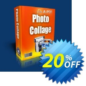 A-PDF Photo Collage Builder 優惠券,折扣碼 A-PDF Coupon (9891),促銷代碼: 20% IVS and A-PDF