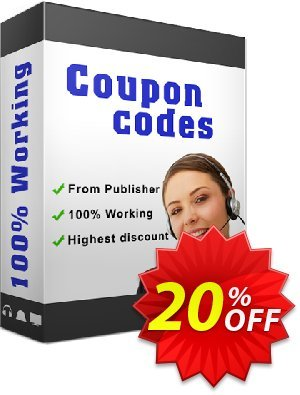 A-PDF WAV to MP3 Converter Coupon, discount 20% IVS and A-PDF. Promotion: 20% IVS and A-PDF