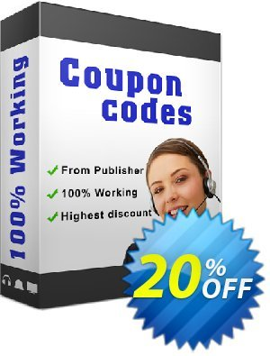 A-PDF All to MP3 Converter Coupon, discount 20% IVS and A-PDF. Promotion: 20% IVS and A-PDF