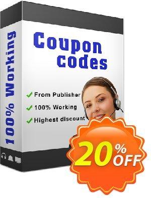 Boxoft Audio Converter 優惠券,折扣碼 A-PDF Coupon (9891),促銷代碼: 20% IVS and A-PDF