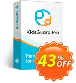 KidsGuard Pro for Android discount coupon 43% OFF KidsGuard Pro for Android (3-Month Plan), verified - Dreaded promo code of KidsGuard Pro for Android (3-Month Plan), tested & approved